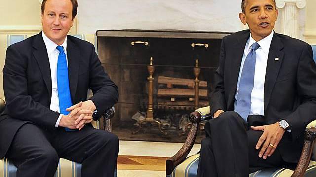 Obama empfängt Cameron im Weissen Haus