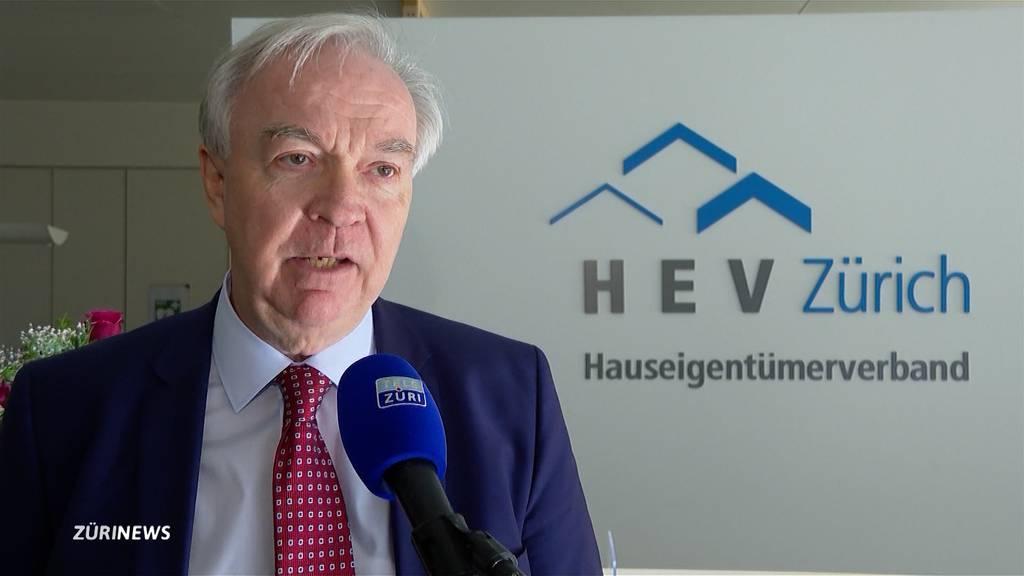 Energiegesetz Zürich: Hauseigentümerverband befürchtet Leerkündigungen
