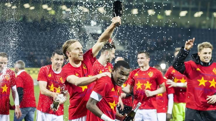 Der FCB hat nun schon 20 Mal die Schweizer Meisterschaft gewinnen können.