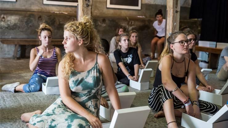 Neben den sieben Open Airs im Aargau gehören auch die Veranstalter des Jugendtheater Festivals in der Tuchlaube in Aarau zum Festivalforum. Dirk Wetzel/ZVG