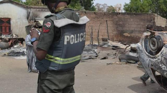 Polizist in Nigeria (Archiv)