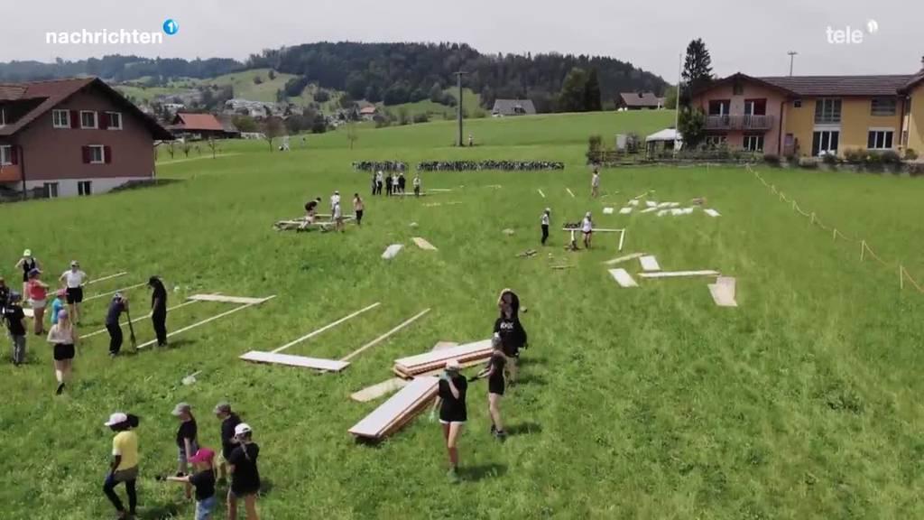 Jubla Luzern startet ins Kantonslager in Risch