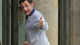 Der sportliche Monsieur Sarkozy (Archiv)