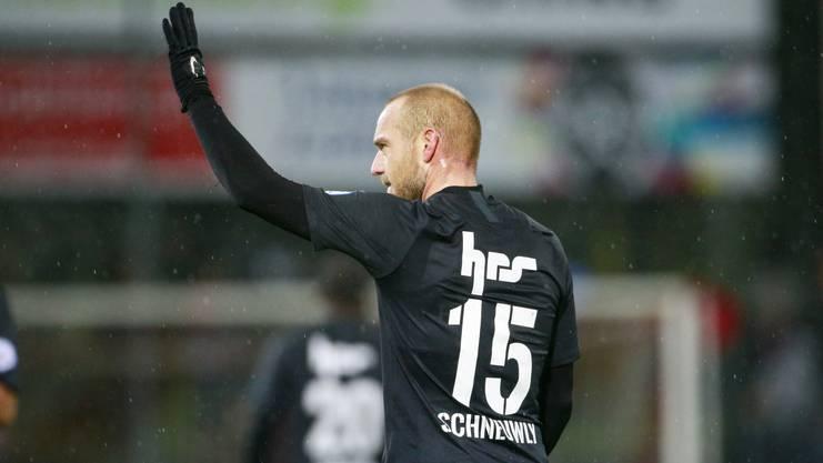 Kann Schneuwly nach seinem Doppelpack auch gegen Schaffhausen glänzen?
