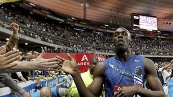Glanzloser Sieg von Usain Bolt in Stockholm
