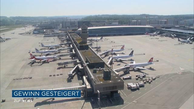Flughafen Zürich machte 285 Millionen Gewinn