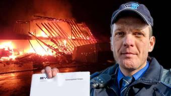 Bernhard Graser erklärt, wie bei einer Hausexplosion ermittelt wird. (Fotomontage)