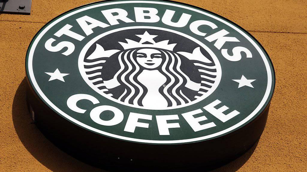 Das Logo von Starbucks. Der US-Kaffeegigant will nun auch Italien erobern. (Archiv)