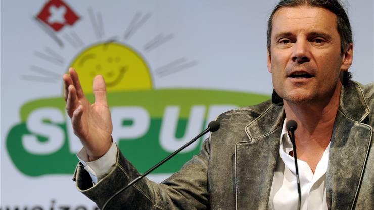 Der Walliser Nationalrat Oskar Freysinger will ins SVP-Vizepräsidium.