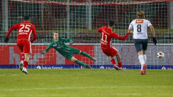 Lausanne-Ouchy sichert sich in der Nachspielzeit per Penalty einen Punkt.