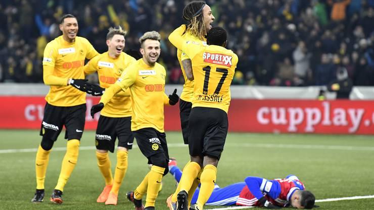 Nicht der FC Basel (am Boden) sondern YB darf in der Gruppenphase der Champions League ran. Auf welche drei Teams treffen die Berner?