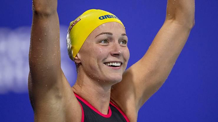 Sarah Sjöström gewann in Glasgow gleich viermal EM-Gold