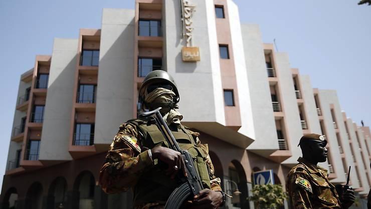 Beim Angriff auf ein Hotel in der malischen Hauptstadt Bamako sind nach amtlichen Angaben 22 Menschen ums Leben gekommen, unter ihnen die zwei Angreifer. (Archivbild)