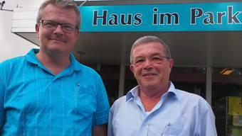 Der einheimische Markus Hunn (links) übernimmt die Heimleitung von Ralph Bally, der bald in Pension geht.