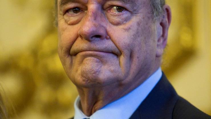 Der 78-jährige Jacques Chirac ist in Frankreich äusserst beliebt. keystone