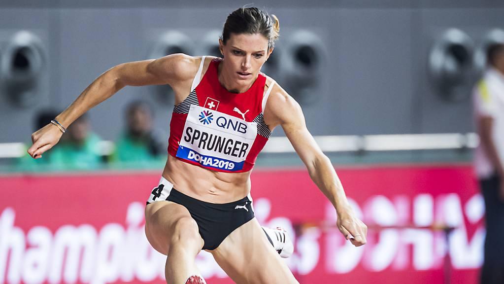 Lea Sprunger zeigte über 400 m Hürden einen überzeugenden ersten Auftritt in Doha