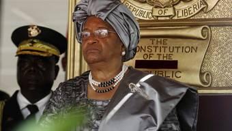 Die liberianische Präsidentin Johnson-Sirleaf (Archiv)