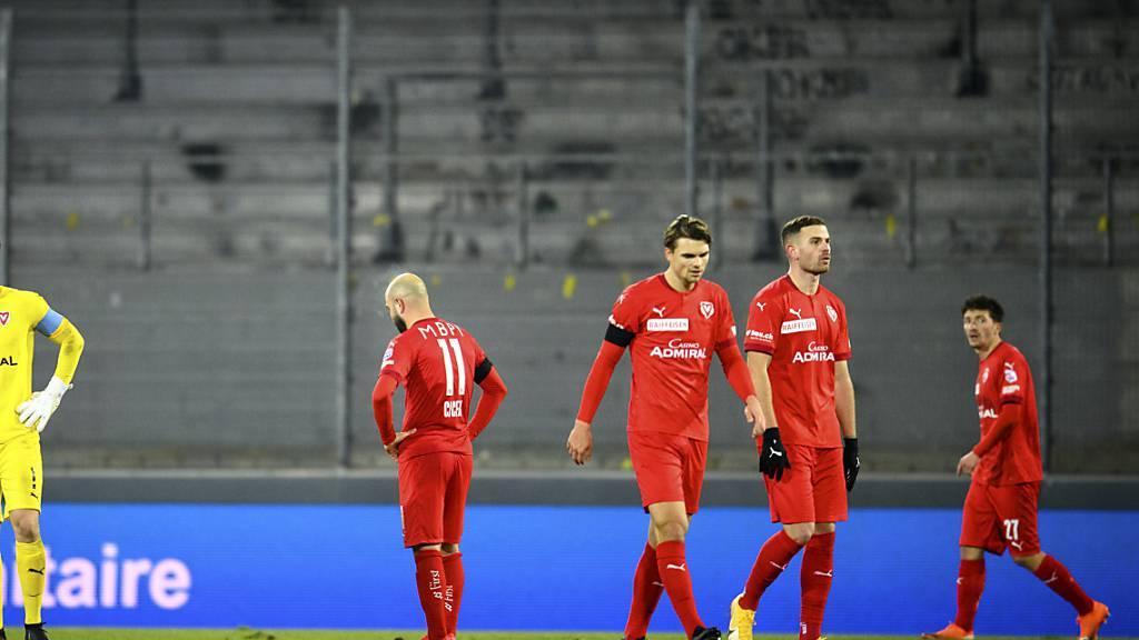 Ratlosigkeit beim FC Vaduz: Der Aufsteiger steht in der Super League nicht nur wegen Corona ziemlich alleine da