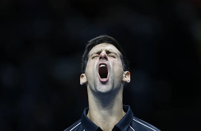Zum dritten Mal Sieger der World Tour Finals: Novak Djokovic