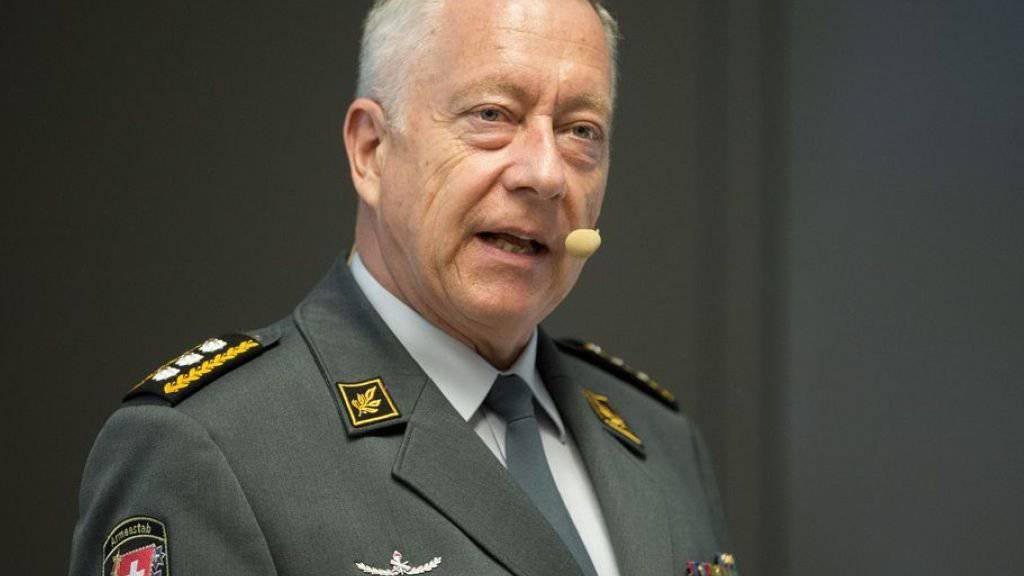 """Armeechef Andre Blattmann wollte den Whistleblower im übertragenen Sinne """"auf die Schlachtbank führen"""". Nun wird er wohl nie gefunden."""