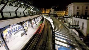 Beim Bahnhof Stadelhofen ist ein weiteres Calatrava-Werk geplant.