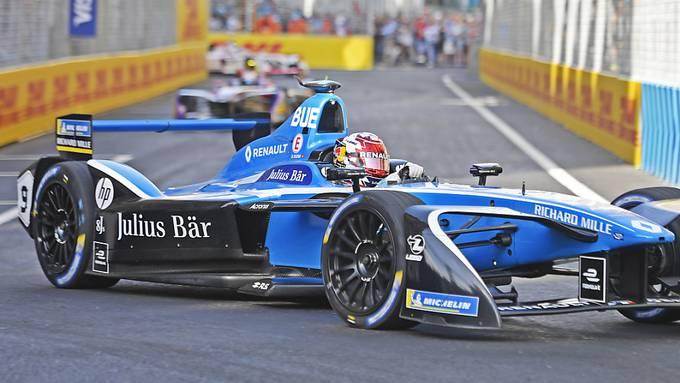 Sébastien Buemi fährt auch nächste Saison für das e-dams-Team in der Formel E, neu allerdings mit Nissan- statt Renault-Motoren