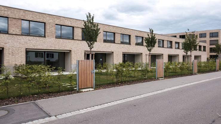 Nicht der Wohnraum, den sich die SP wünscht: Eine 5,5-Zimmer-Wohnung in der Aarenau kostet über 3500 Franken.