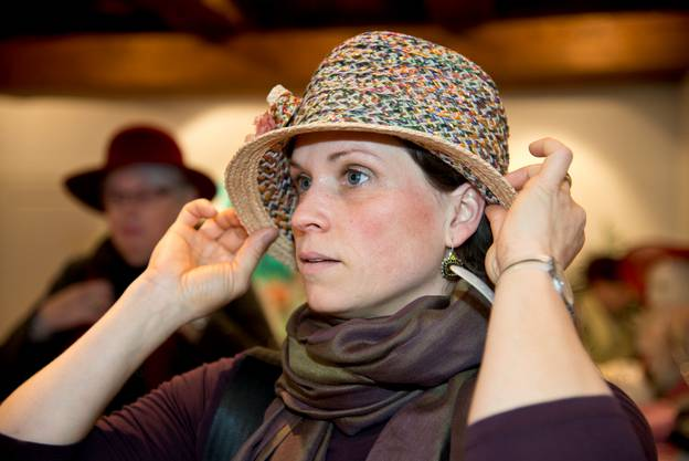 Auftritt der vereinigten Hutträgerinnen von Solothurn