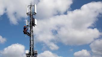Mobilfunkantennen sorgen in Zunzgen für Störungen. (Symbolbild)