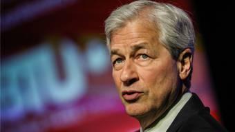 Bei JPMorgan Chase kassierte James Dimon als Chef rund 29 Millionen Franken im Jahr 2018