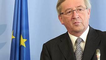 Jean-Claude Juncker gibt Einigung bekannt (Archiv)