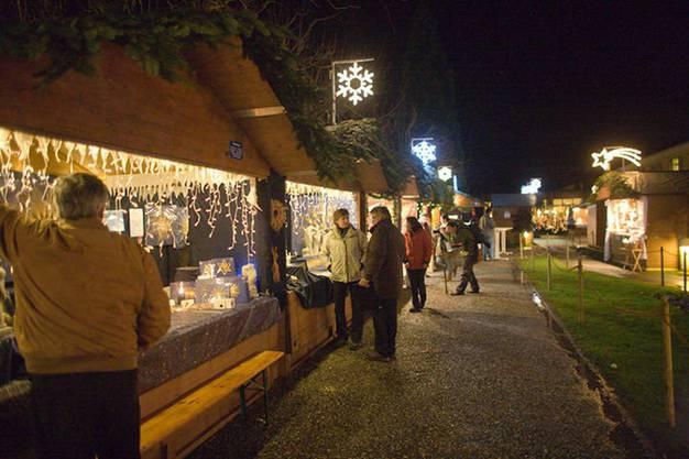 Impressionen vom Weihnachtsmarkt Schinznach-Bad.