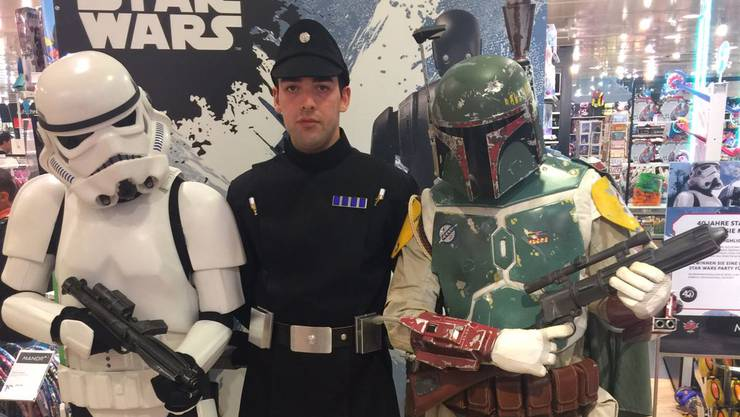 Star Wars Helden live im Manor
