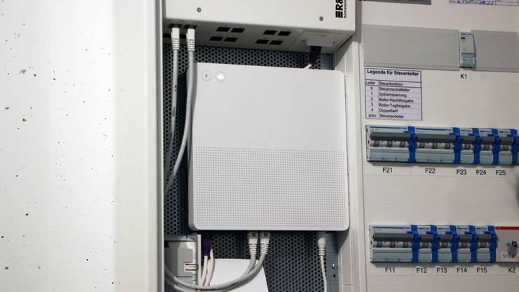 Das Testobjekt: Der WLAN Router.
