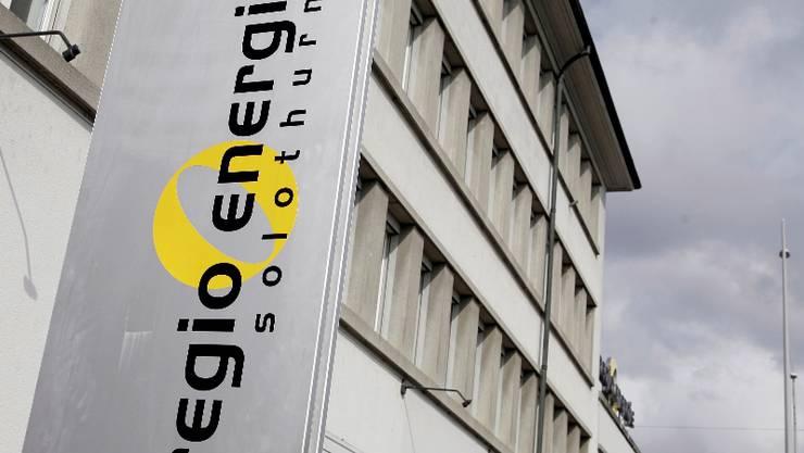 Das Gebäude der Regio Energie soll eine solaranlage erhalten. (Archiv)