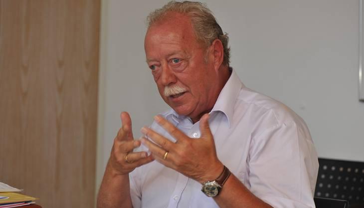 Rolf Studer, Verwaltungsratvizepräsident der Seilbahn Weissenstein AG
