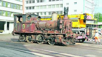 100-jährige Dampflokomotive von Oltner Pascal Troller