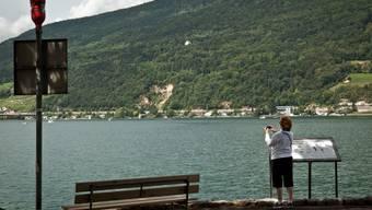 Im Sediment des Bielersees wurde Cäsium nachgewiesen.