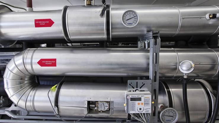 Luft-/Wasser-Wärmepumpen gelten ale eine günstige und umweltfreundliche Art der Wärmeerzeugung. (Symbolbild)