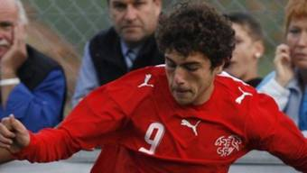 Admir Mehmedi traf für die Schweiz nach der Pause