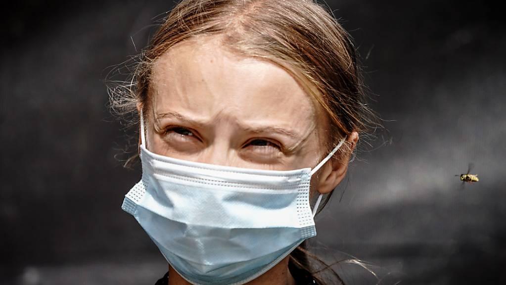 ARCHIV - Klimaaktivistin Greta Thunberg. Foto: Kay Nietfeld/dpa