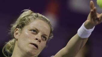 Kim Clijsters gewann die letzten zwei grossen Titel des Jahres