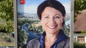 Spieglein, Spieglein an der Wand, wer hat das schönste Poster im Aargauer Land? Unsere Leser finden: Yvonne Feri.