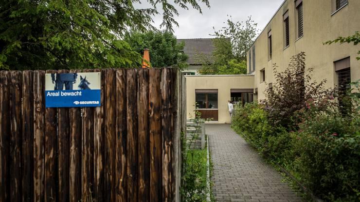 Gartenweg in Buchs