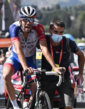 Thibaut Pinot wird Zweiter des wichtigsten Vorbereitungsrennen, der Dauphiné-Rundfahrt