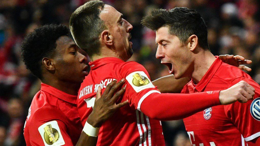 Franck Ribéry fühlt sich nach den zuletzt starken Auftritten der Bayern an 2013 erinnert