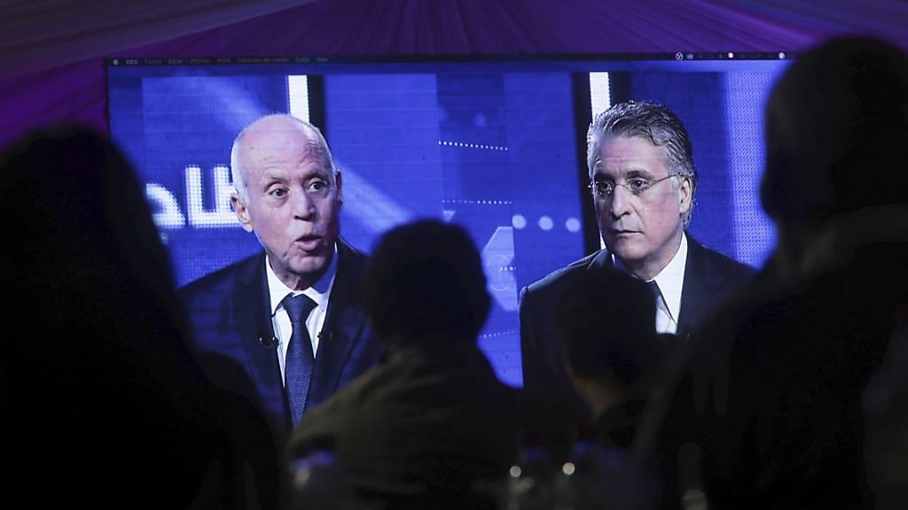 Erdrutschsieg von Kaïs Saïed bei Präsidenten-Stichwahl