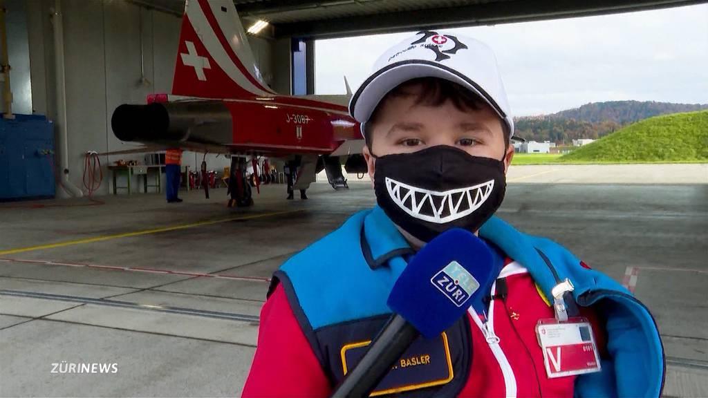 Patrouille Suisse begleiten: Ursins Herzenswunsch geht in Erfüllung