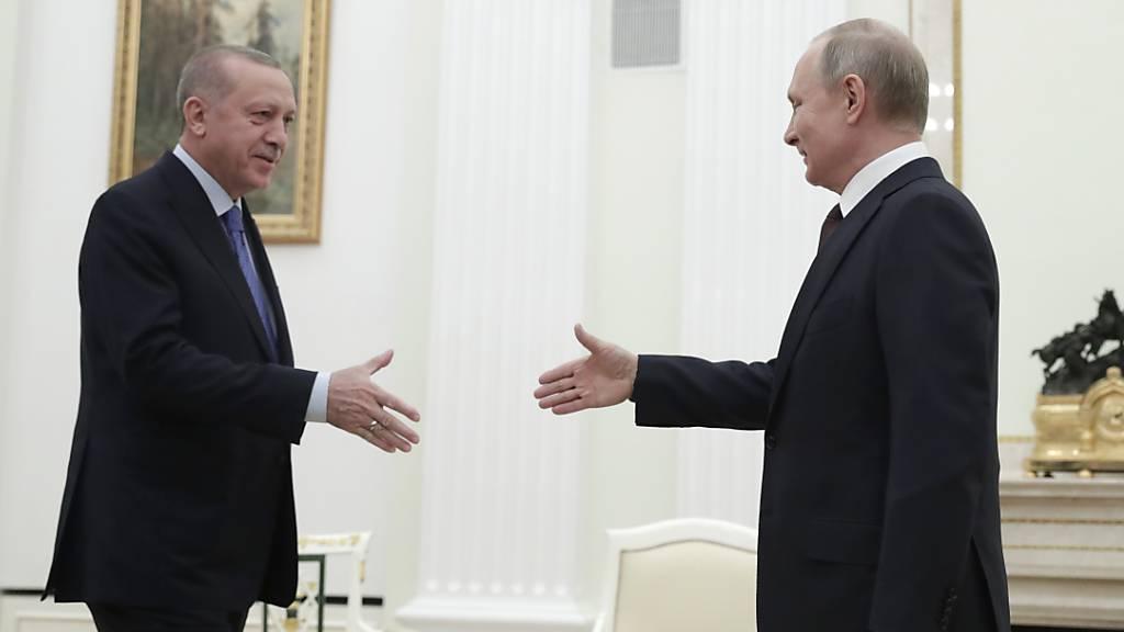 Putin und Erdogan einigen sich auf Waffenstillstand für Idlib