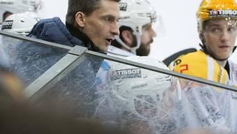 Trainer Alex Reinhard eilt mit La Chaux-de-Fonds von Sieg zu Sieg